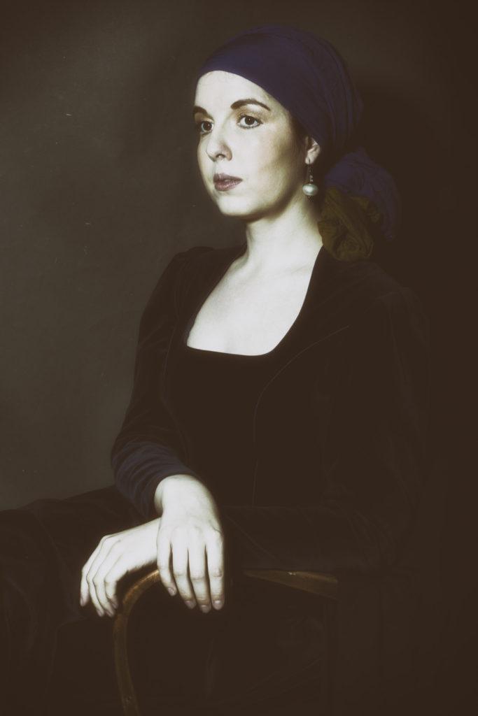 Merna El-Mohasel-Das Mädchen mit dem Perlenohrgehänge