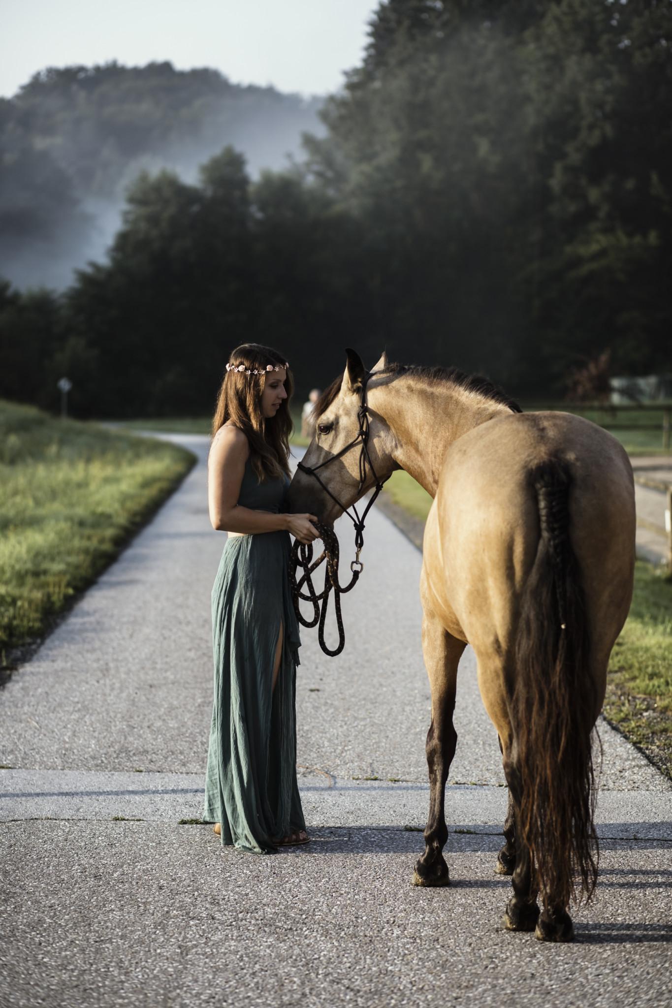 Merna-El-Mohasel-Katrin-und-ihr-spanischer-Mustang